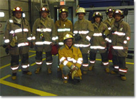 Dayspring fire fighters
