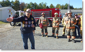 Dayspring & District Fire Department Host Battalion Chief from Toledo Ohio