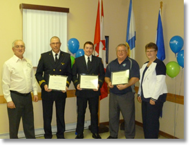 Dayspring & District Fire Department Municipal Volunteer Awards